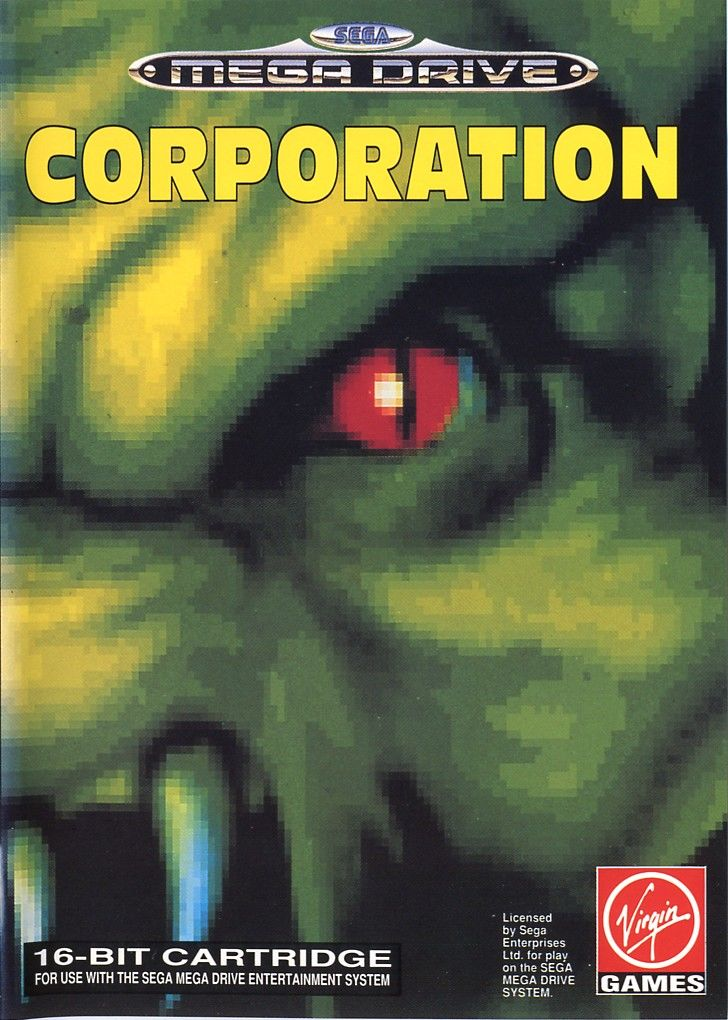 Corporation Genesis Front Cover