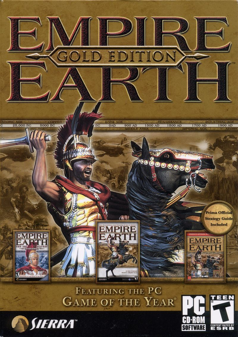 Empire Earth: Gold Edition Windows Front Cover