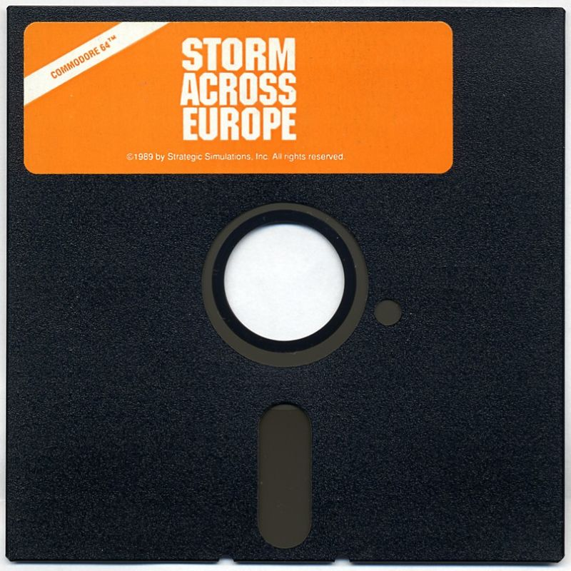 Storm Across Europe Commodore 64 Media