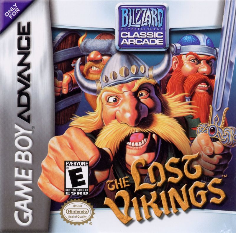 The Lost Vikings Game Boy Advance Front Cover