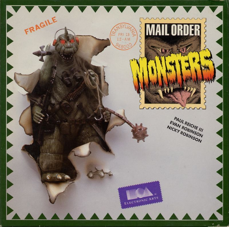Mail Order Monsters Commodore 64 Front Cover