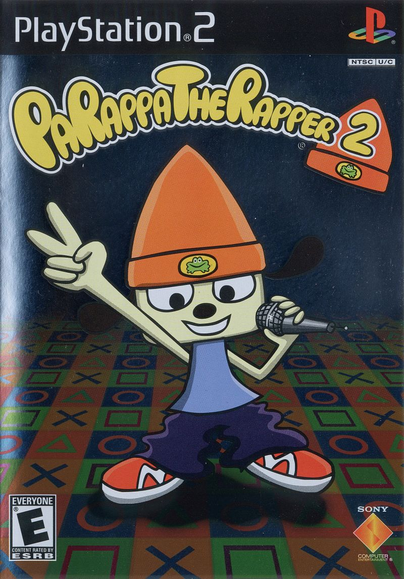 PaRappa the Rapper 2 PlayStation 2 Front Cover