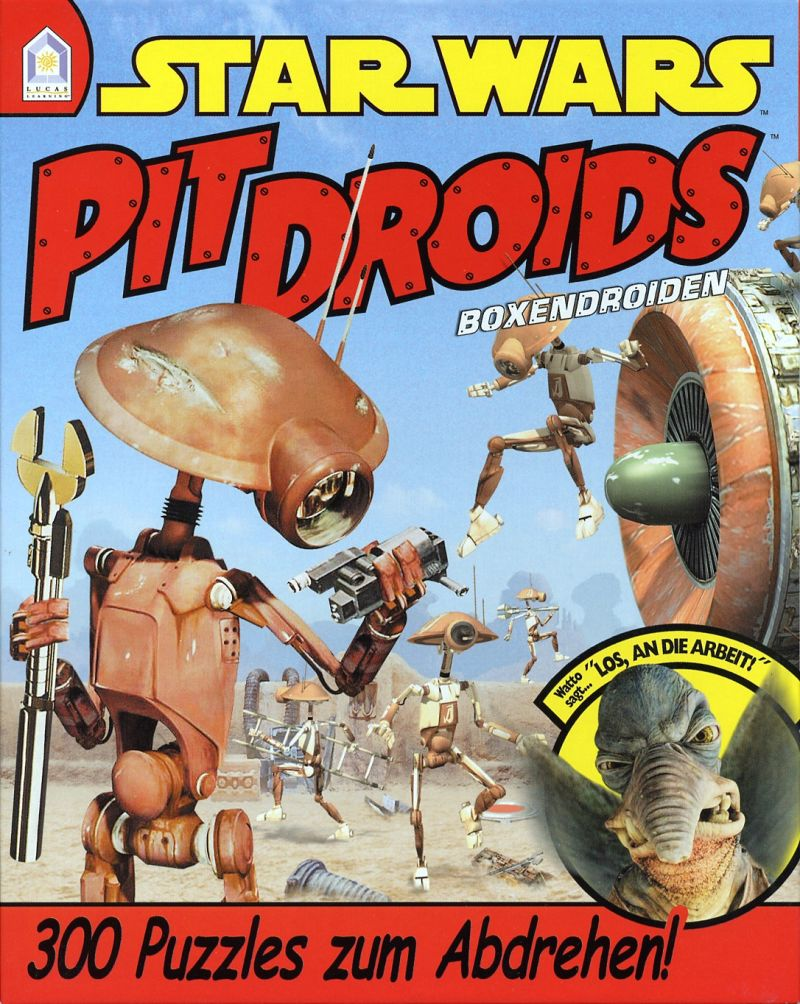 Star Wars: Pit Droids Windows Front Cover