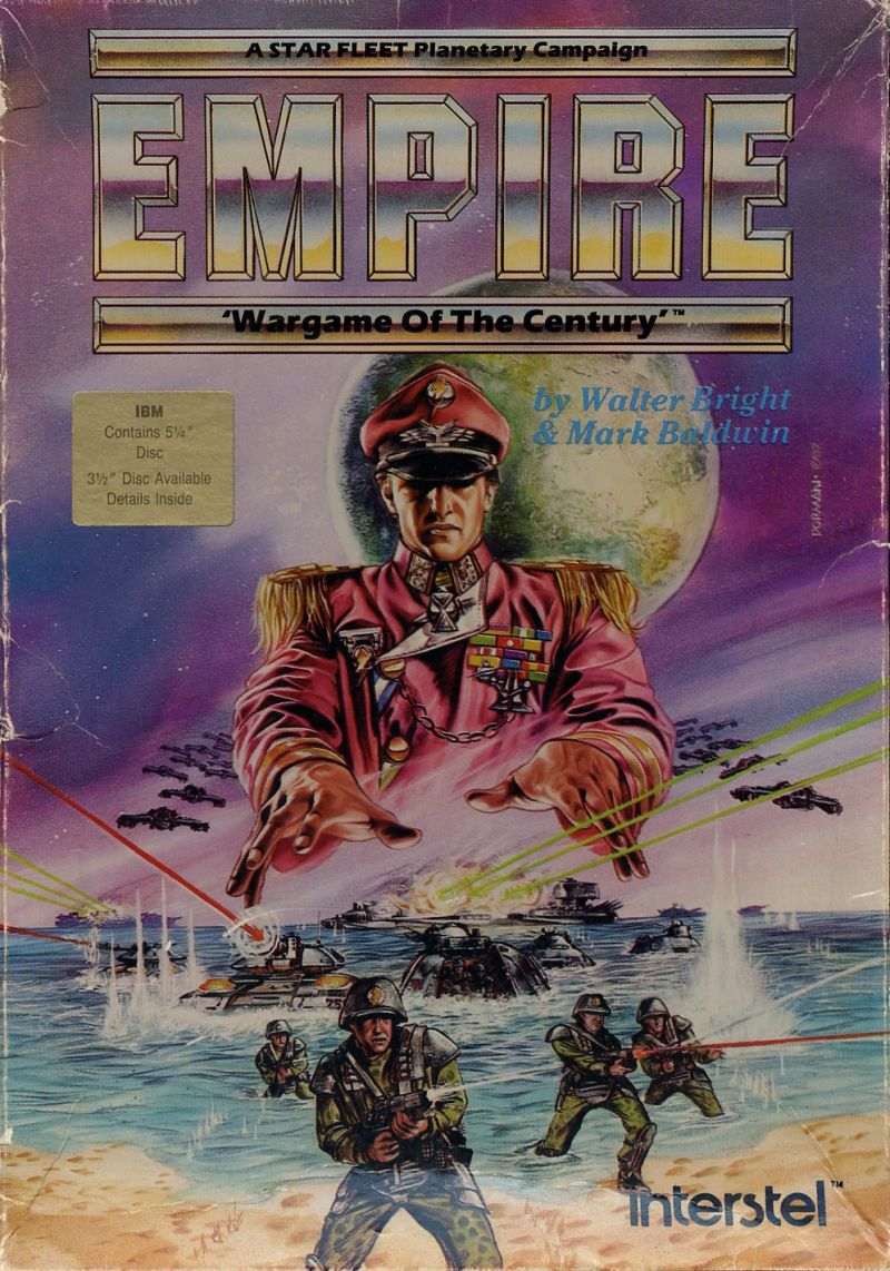 Empire: Wargame of the Century DOS Front Cover