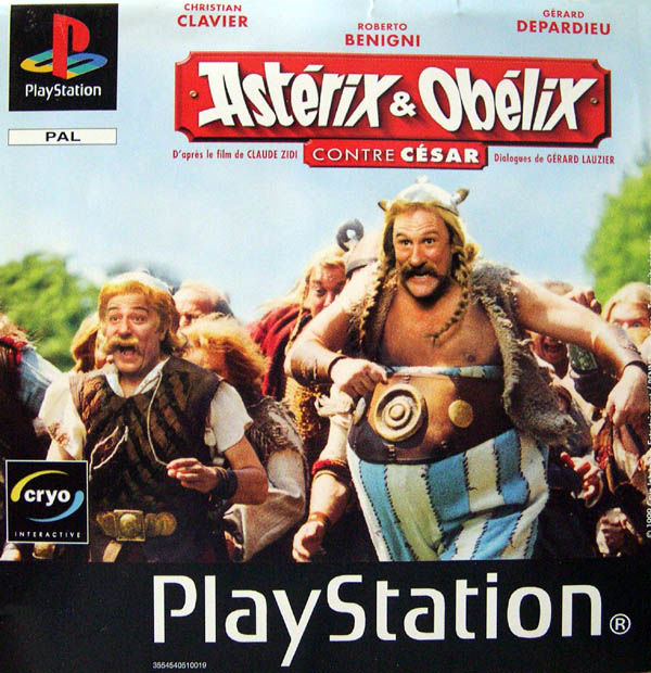Asterix and Obelix Take on Caesar PlayStation Front Cover