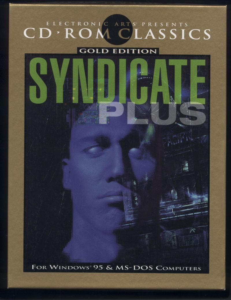 Syndicate Plus DOS Front Cover