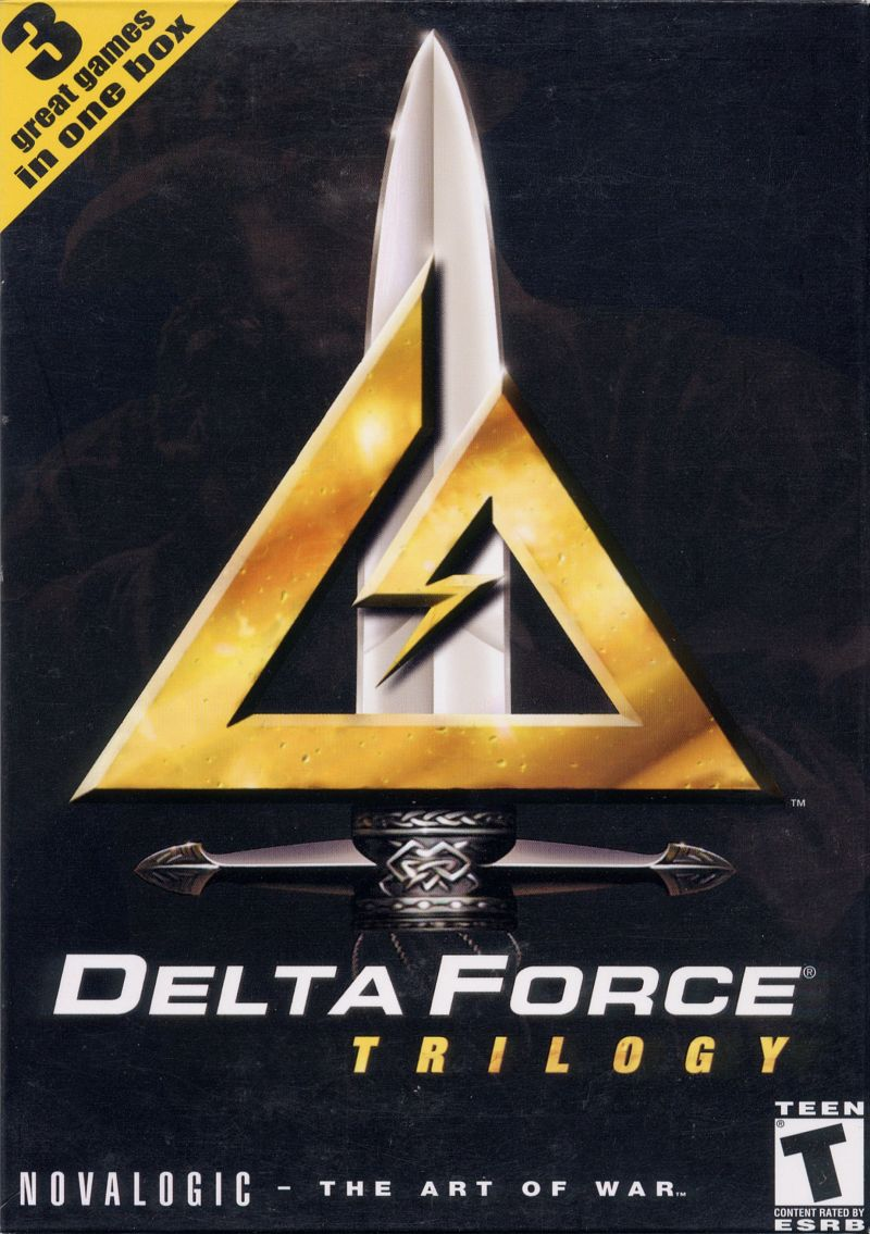 Delta Force Trilogy Windows Front Cover