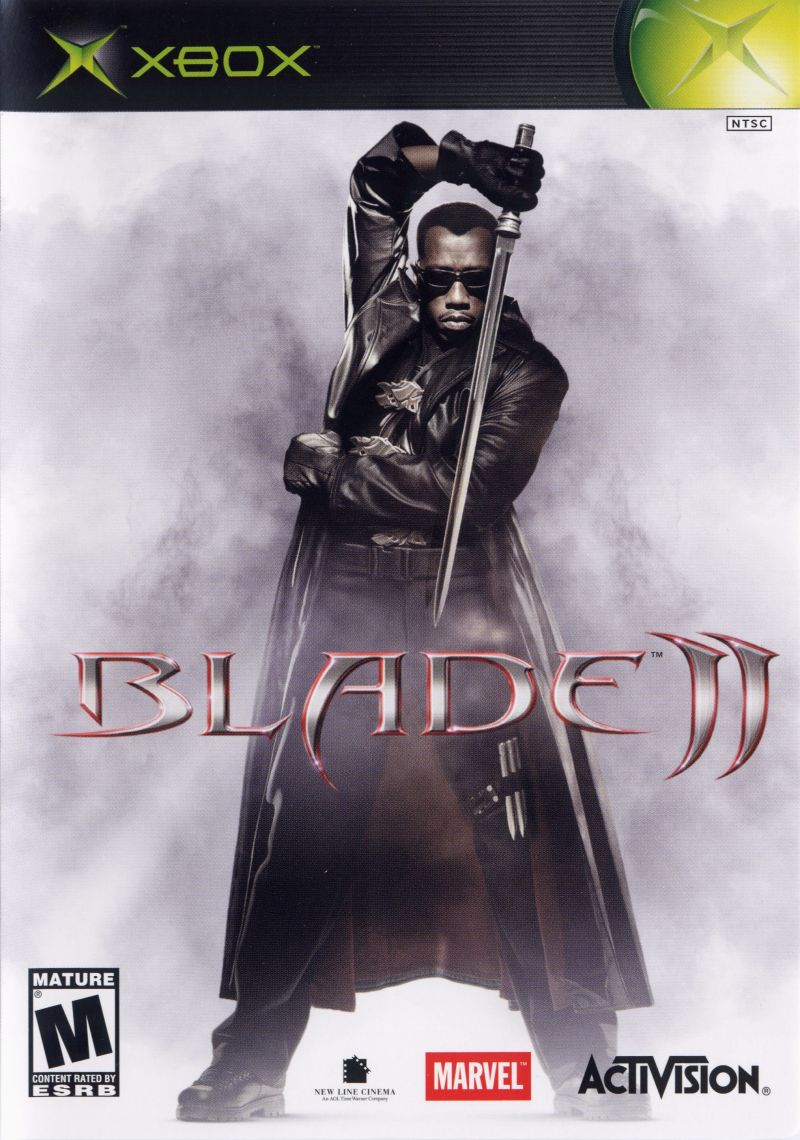 Blade II Xbox Front Cover