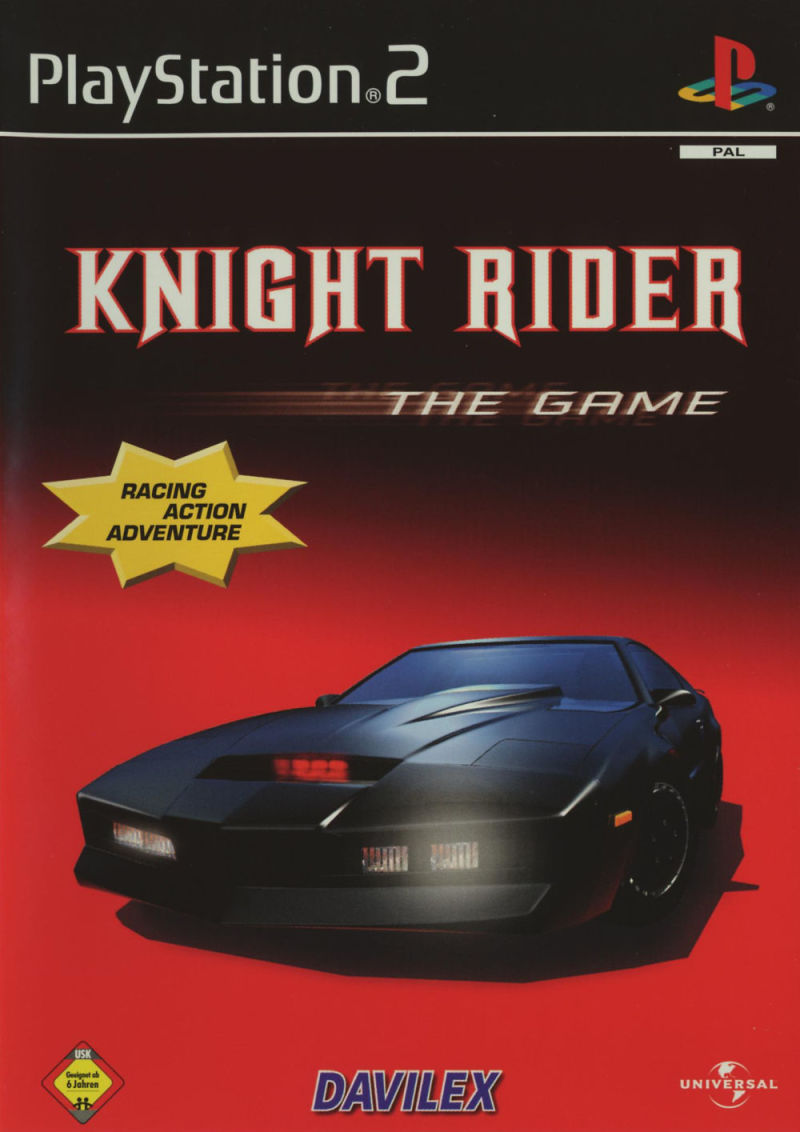 Knight Rider: The Game PlayStation 2 Front Cover