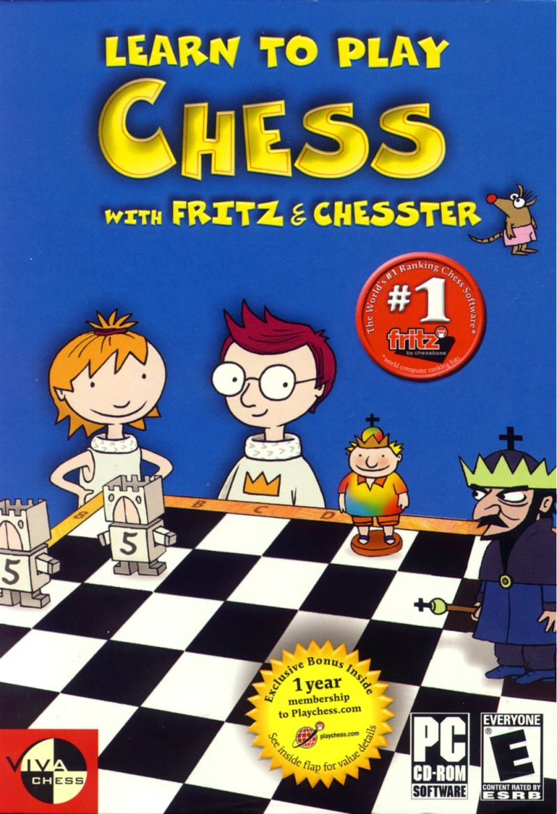 Learn to Play Chess with Fritz & Chesster Windows Front Cover