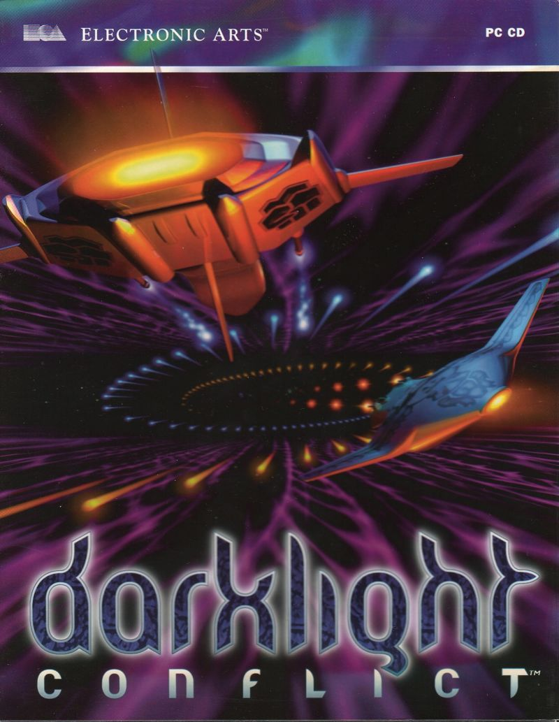 Darklight Conflict DOS Front Cover