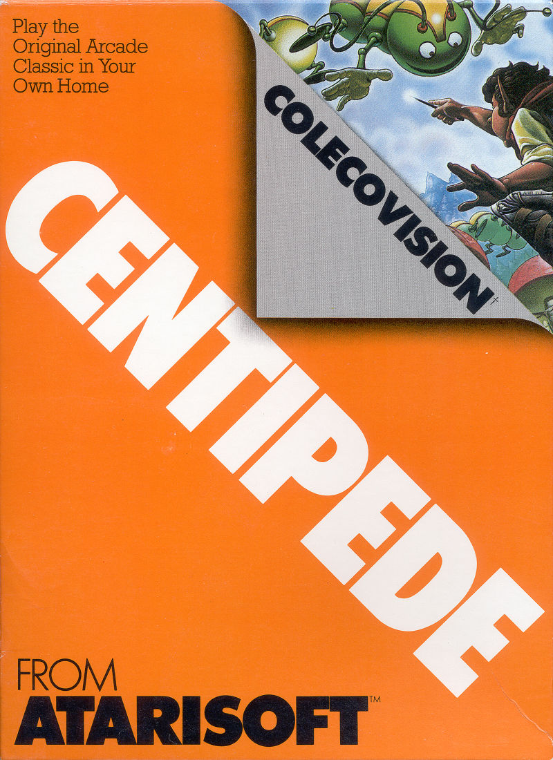 Centipede ColecoVision Front Cover