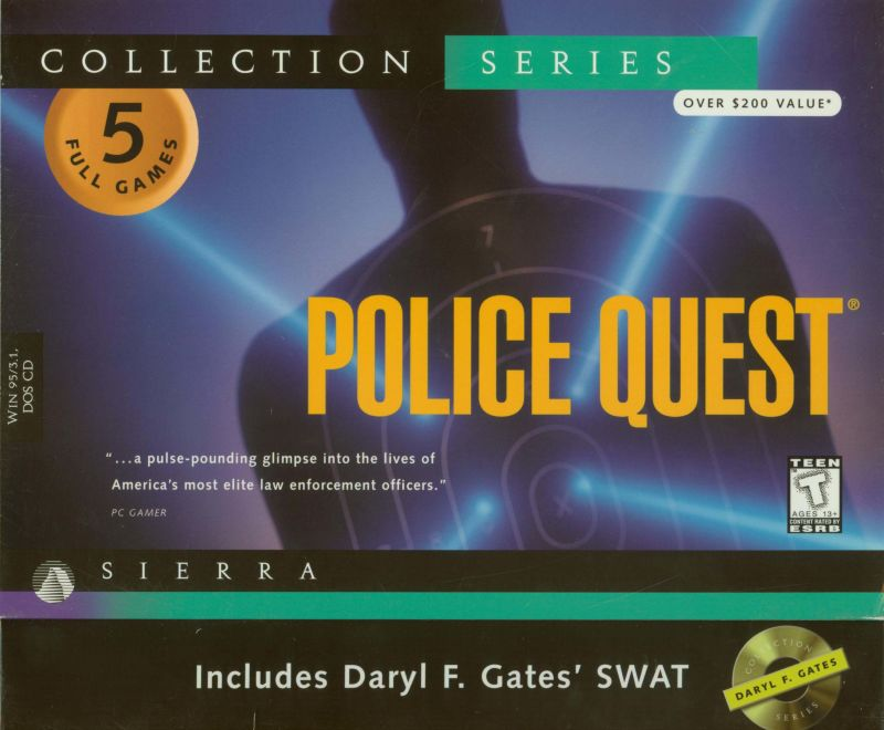 Police Quest: Collection Series DOS Front Cover