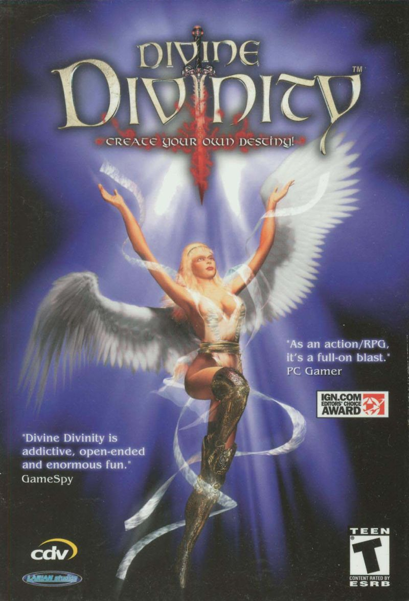 Divine Divinity Windows Front Cover