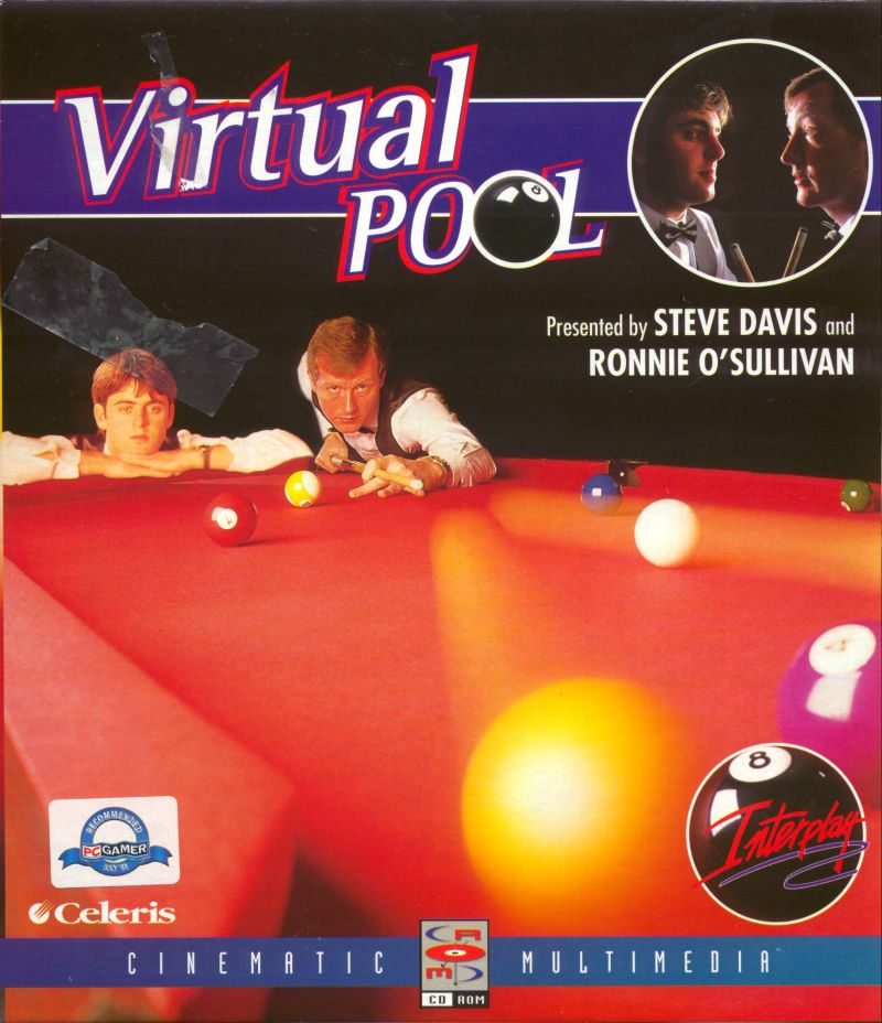 Virtual Pool DOS Front Cover