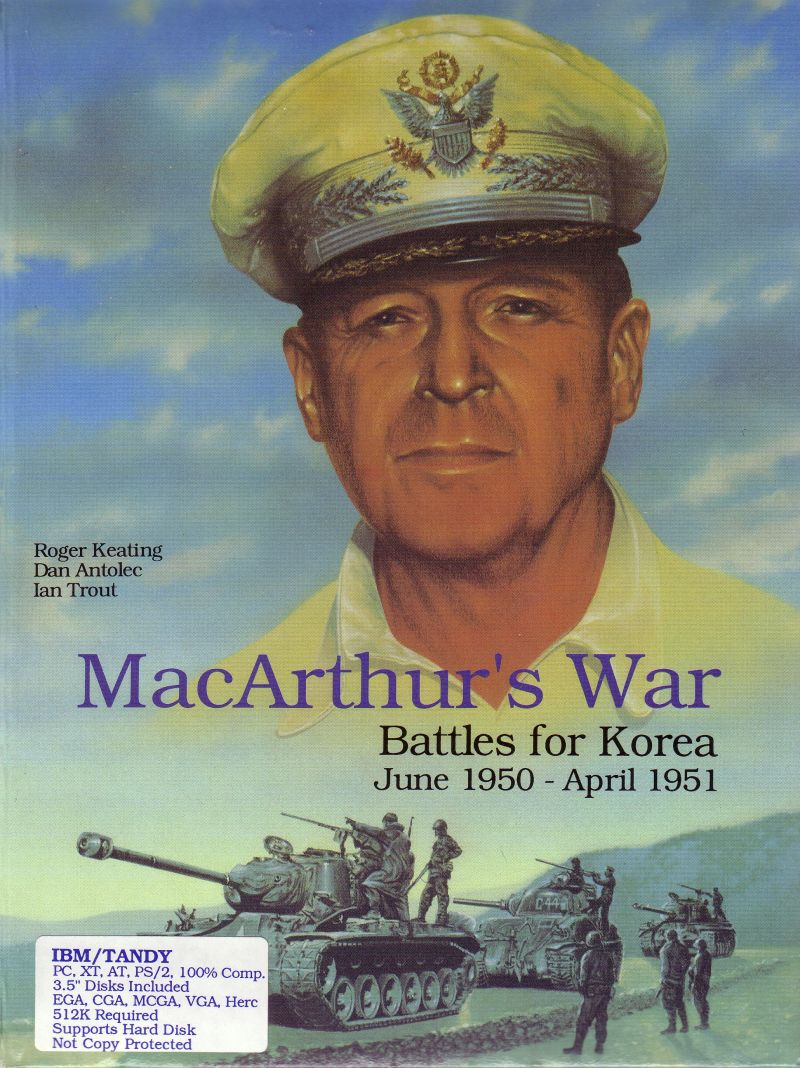 MacArthur's War: Battles for Korea DOS Front Cover