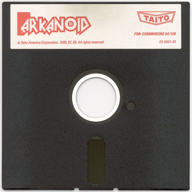 Arkanoid Commodore 64 Media