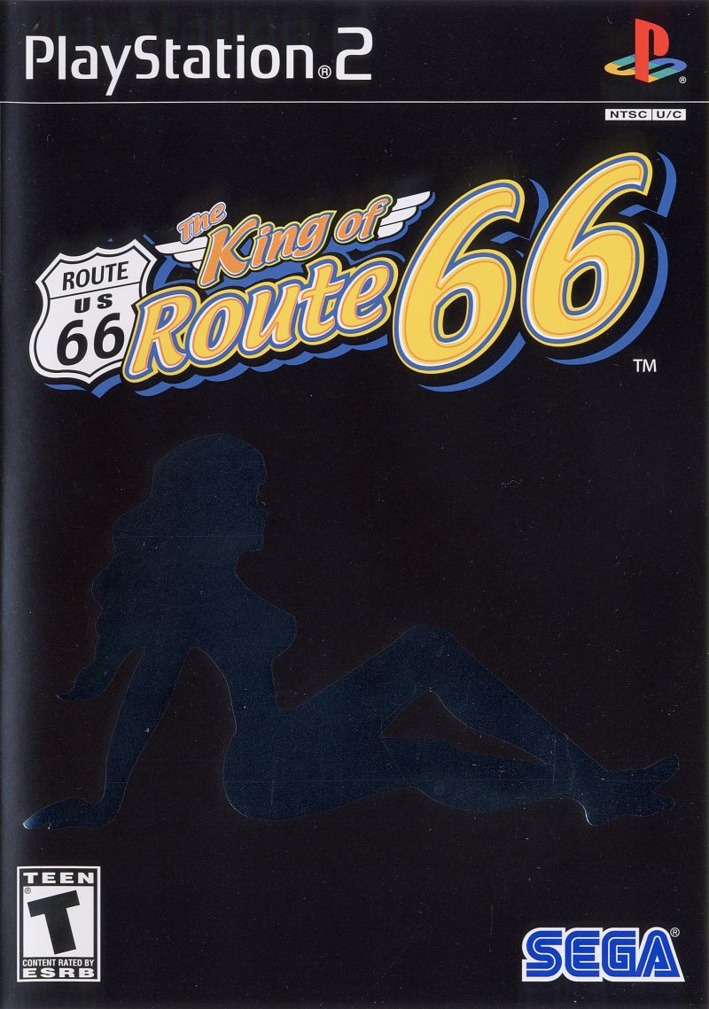 The King of Route 66 PlayStation 2 Front Cover