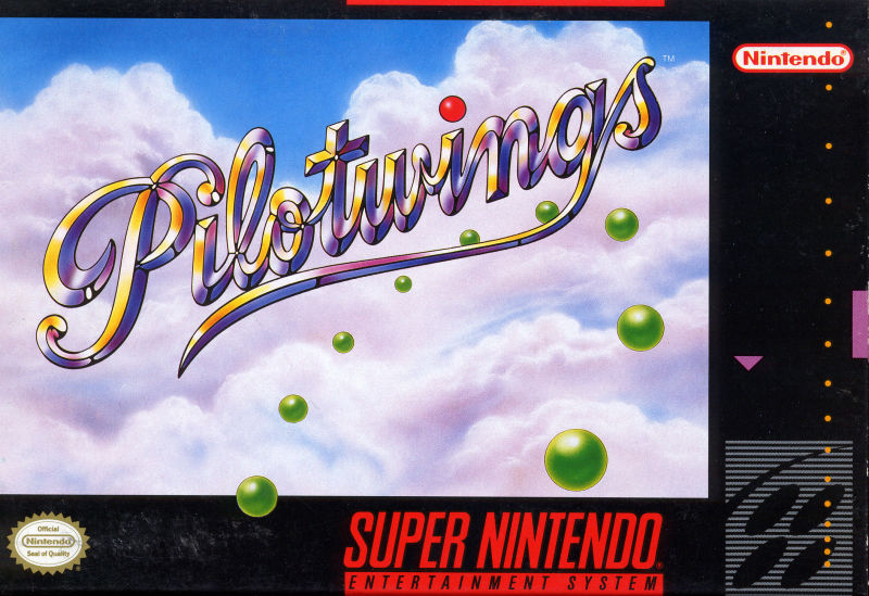 Pilotwings SNES Front Cover