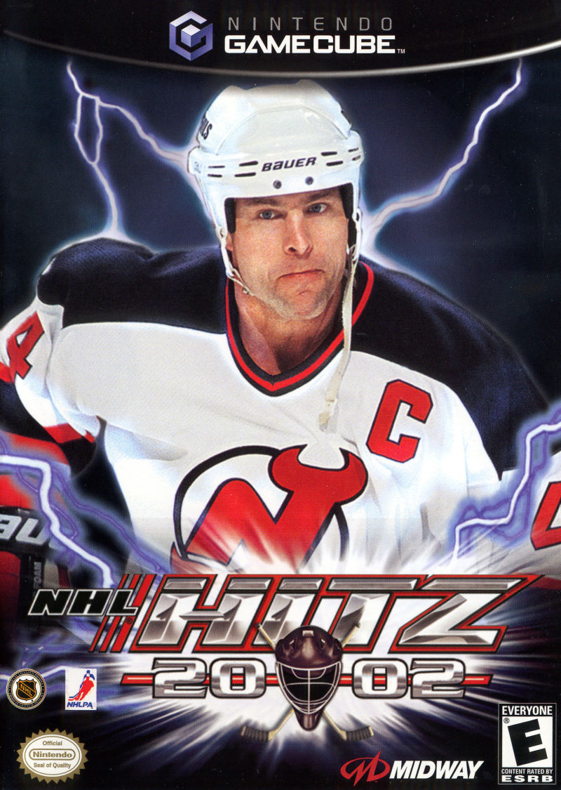 NHL Hitz 20-02 GameCube Front Cover