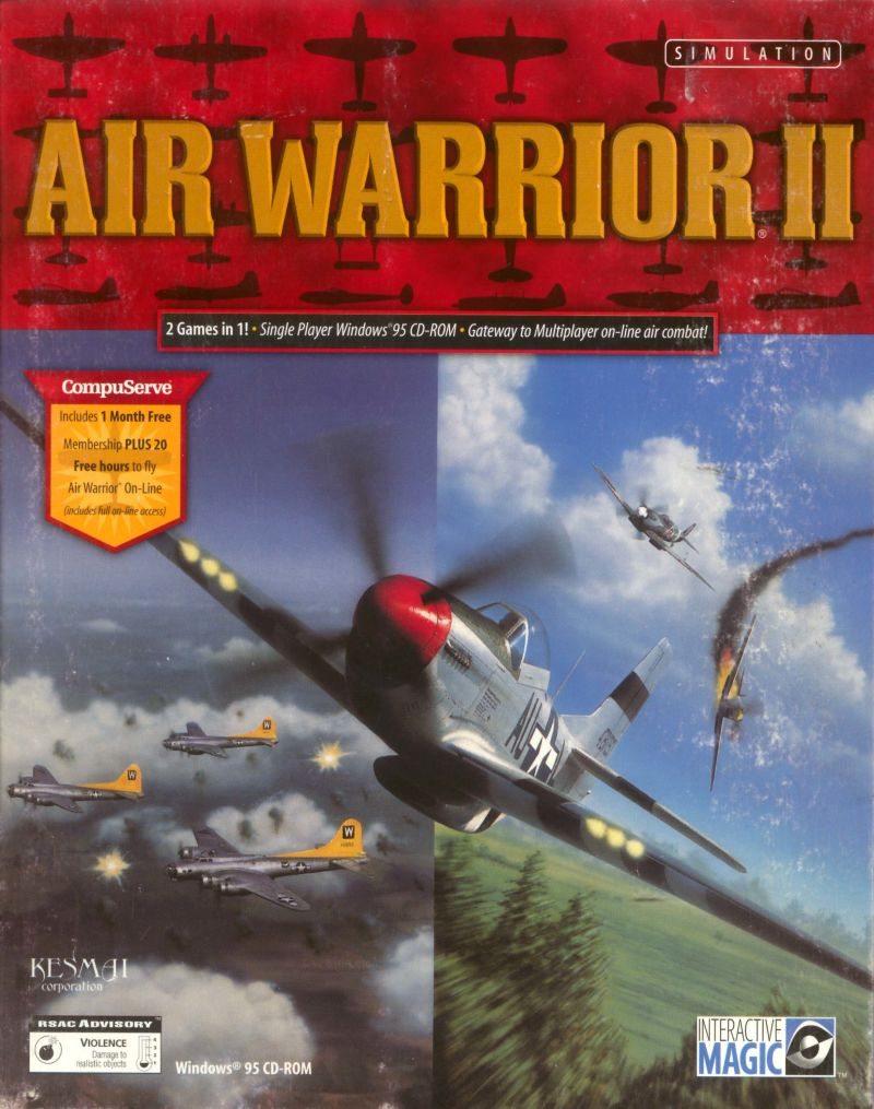 Air Warrior II Windows Front Cover