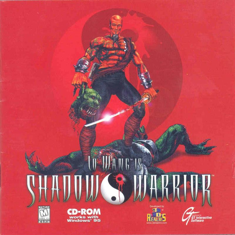 Shadow Warrior DOS Other Jewelcase Front cover
