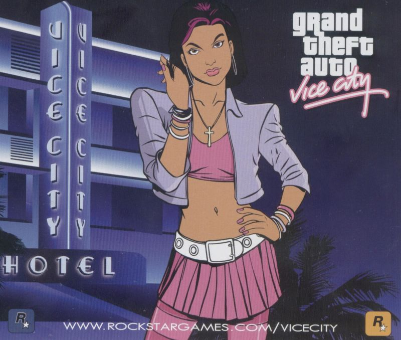 Grand Theft Auto: Vice City Windows Other Jewel Case - Back