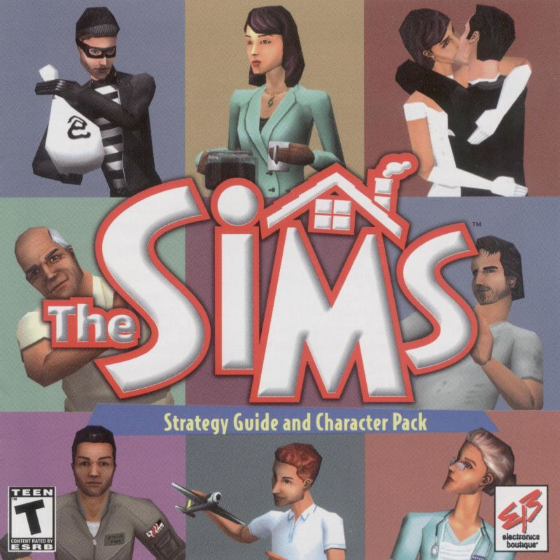 The Sims Windows Front Cover