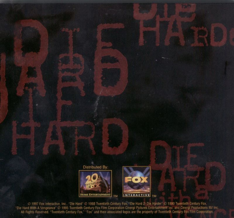 Die Hard Trilogy Windows Other Jewel Case - Back