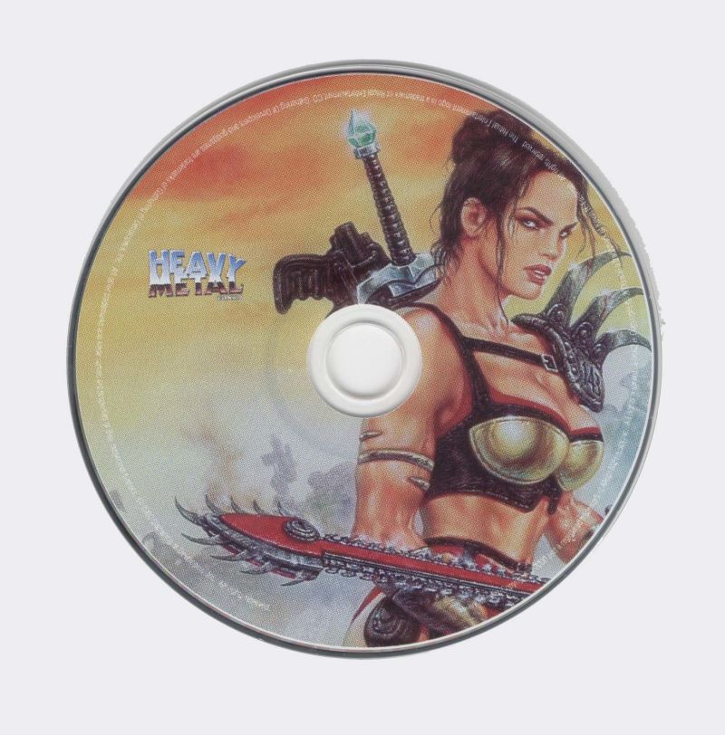 Heavy Metal: F.A.K.K. 2 Windows Media Game Disc