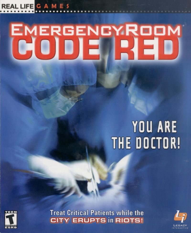 Emergency Room: Code Red Windows Front Cover