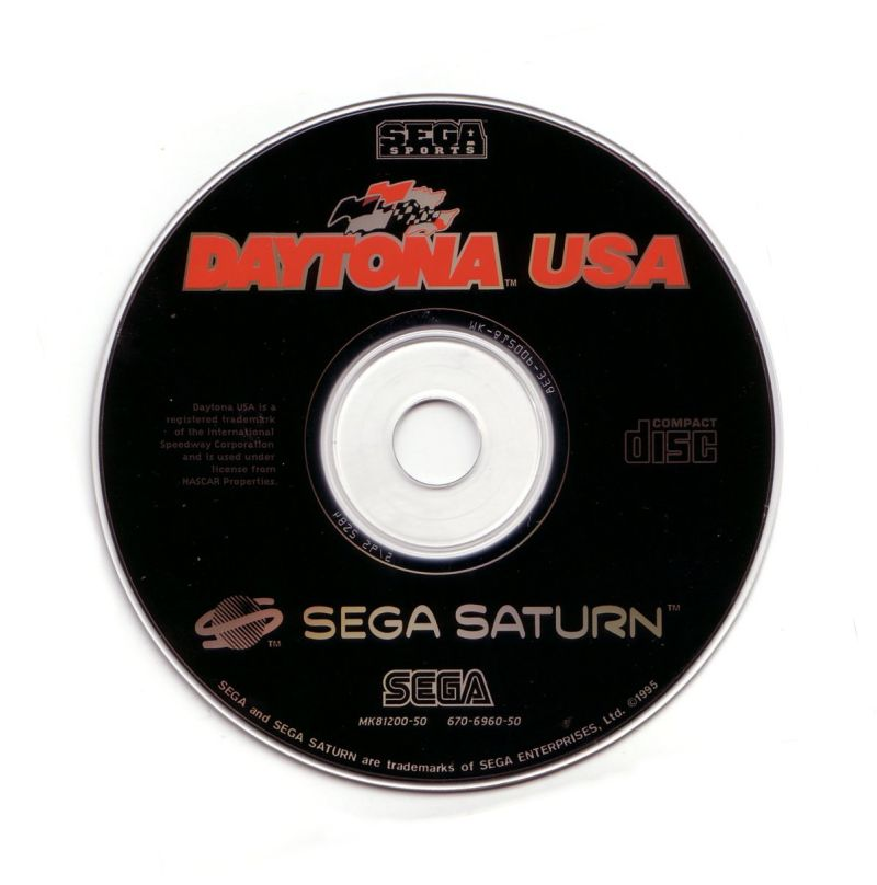 Daytona USA SEGA Saturn Media