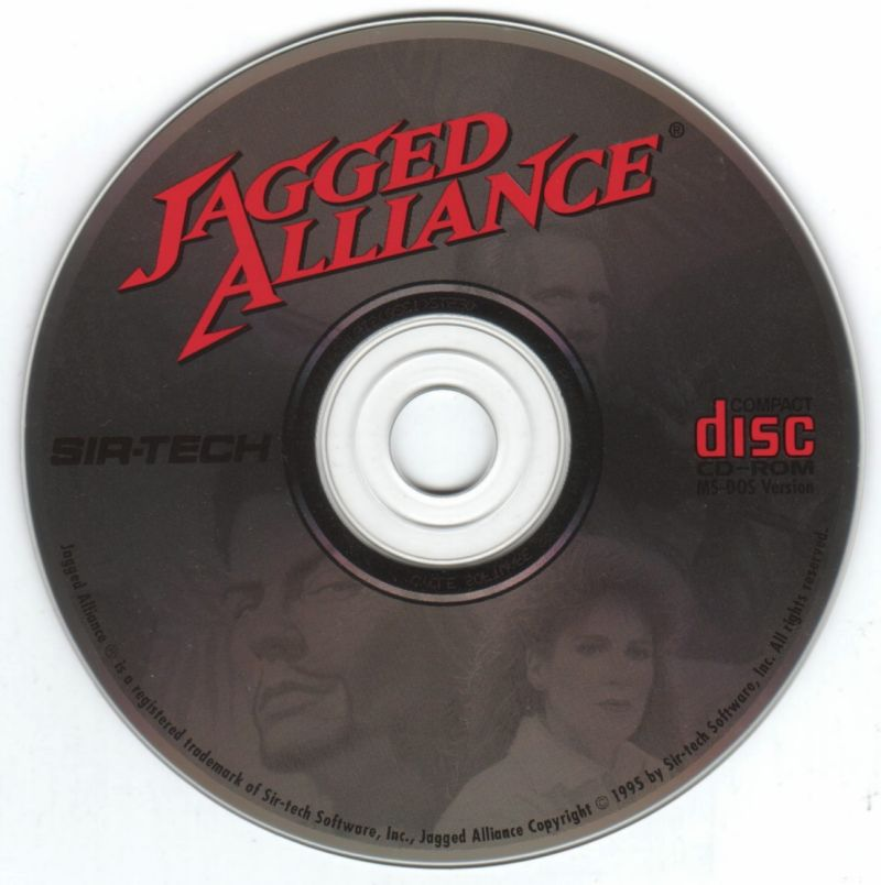Jagged Alliance DOS Media