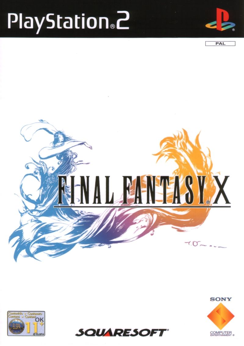 Final Fantasy X PlayStation 2 Front Cover
