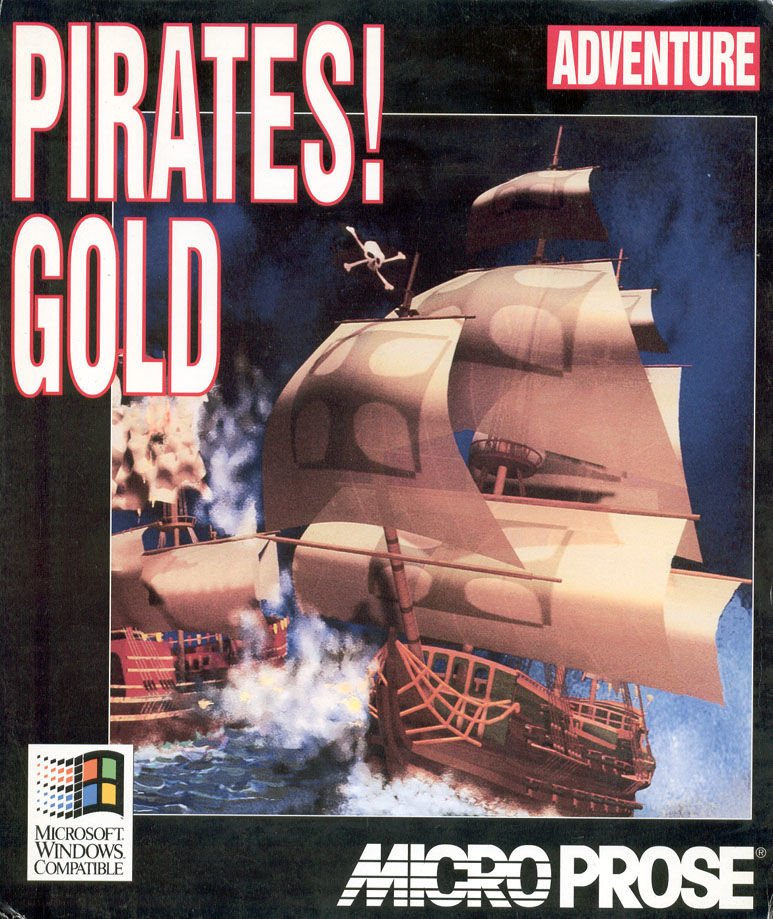 Pirates! Gold Windows 3.x Front Cover