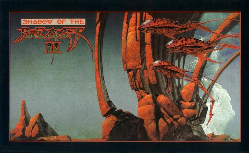 Shadow of the Beast II Amiga Front Cover