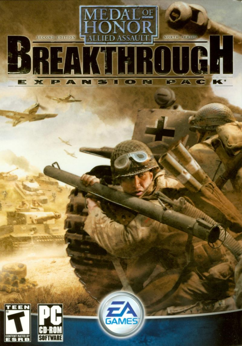 Medal of Honor: Allied Assault - Breakthrough Windows Front Cover