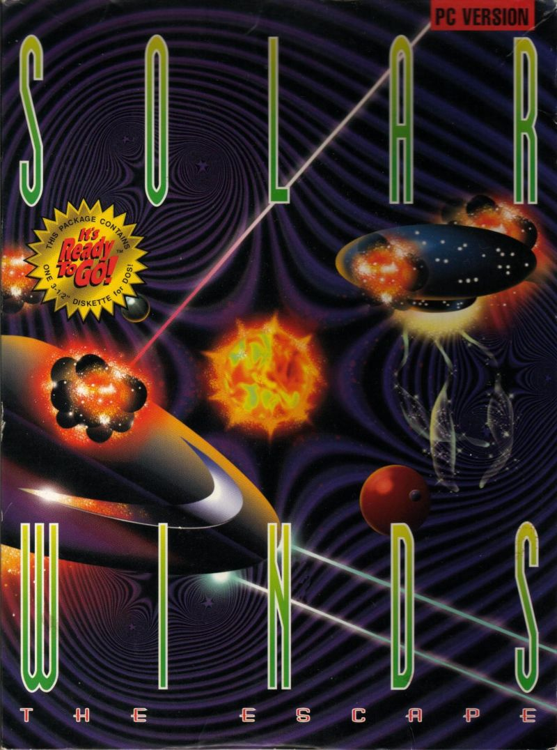 Solar Winds: The Escape DOS Front Cover