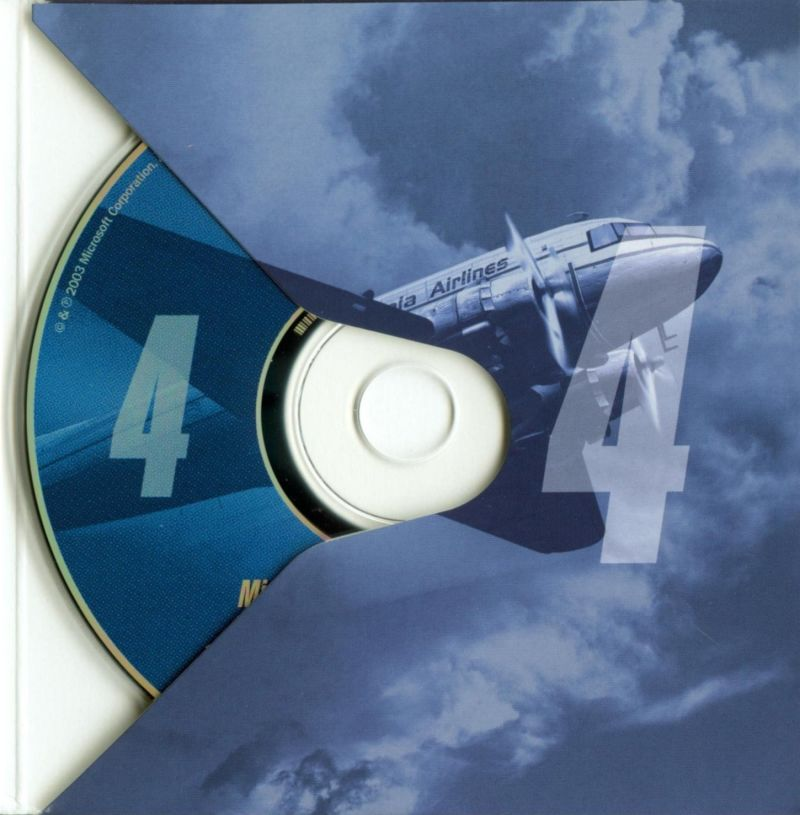 Microsoft Flight Simulator 2004: A Century of Flight Windows Other Disc Holder - Disc 4 Pocket
