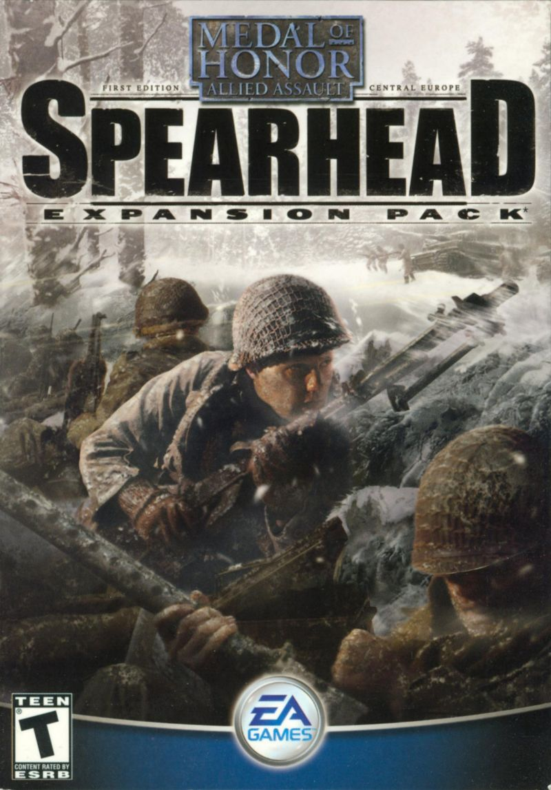 Medal of Honor: Allied Assault - Spearhead Windows Front Cover