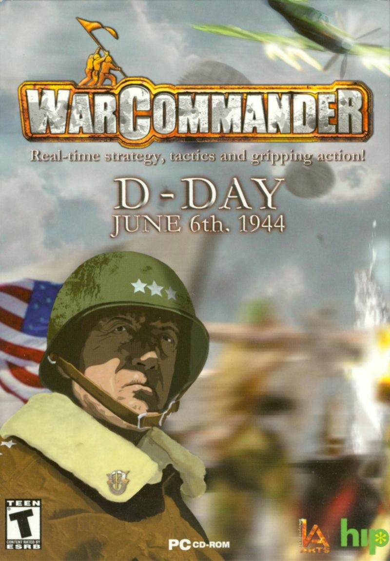 WarCommander Windows Front Cover