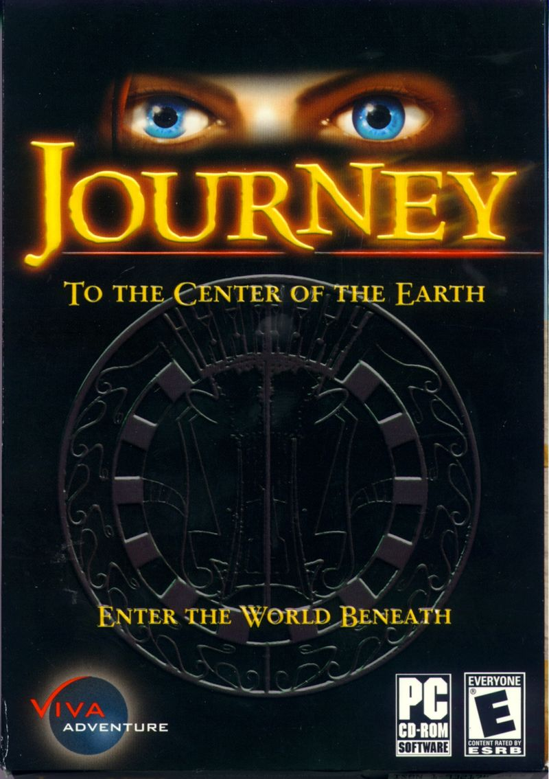 Journey to the Center of the Earth Windows Front Cover
