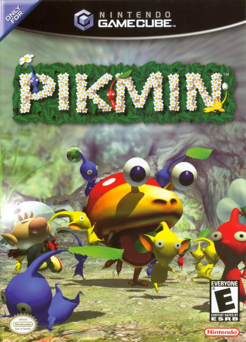 Pikmin GameCube Front Cover