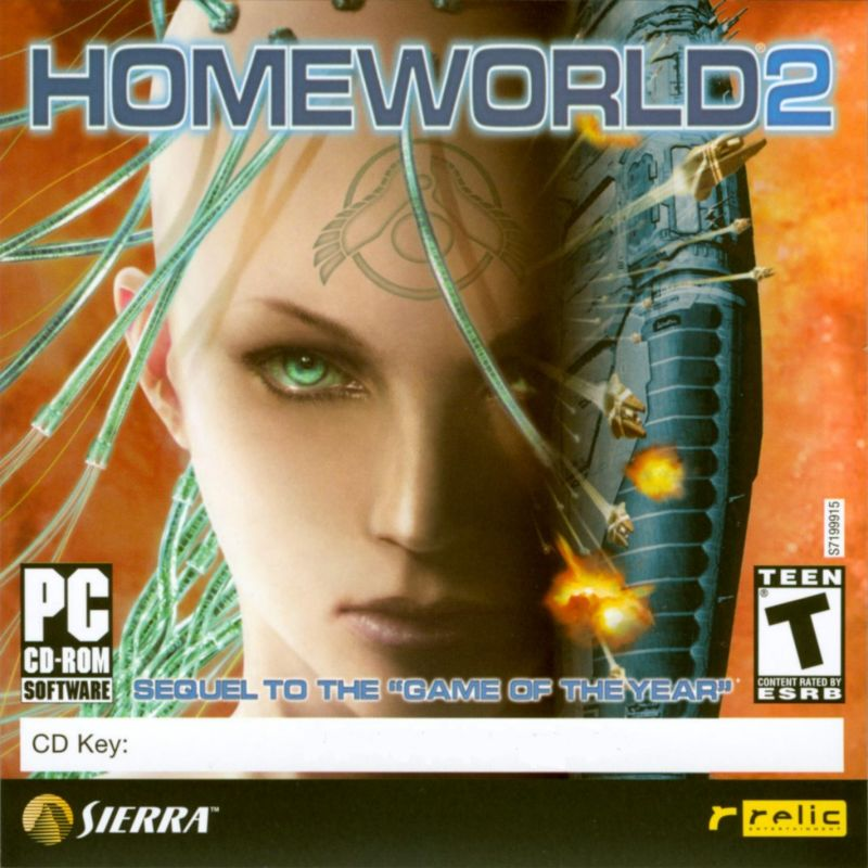 Homeworld 2 Windows Other Jewel Case - Front