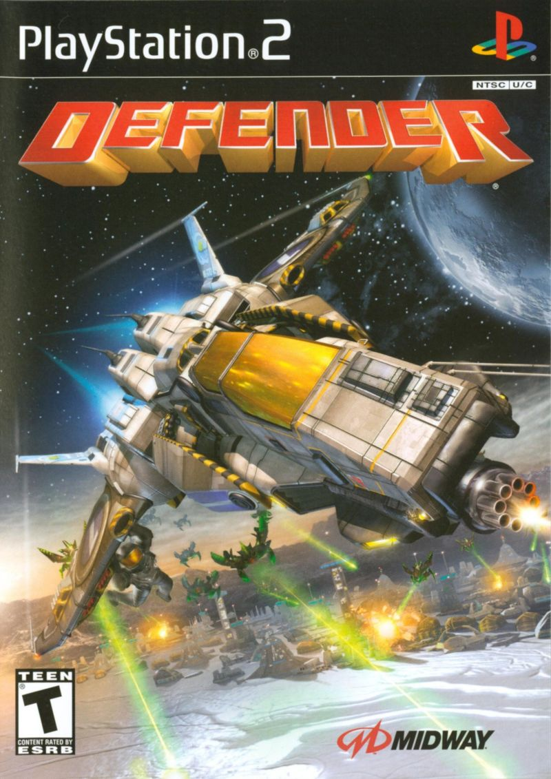 Defender PlayStation 2 Front Cover