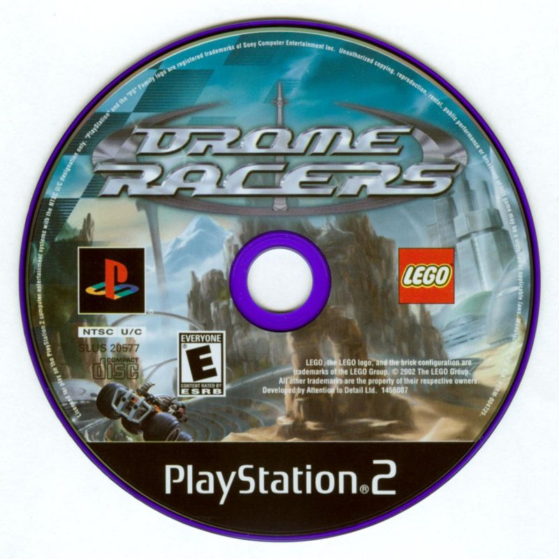 Drome Racers PlayStation 2 Media