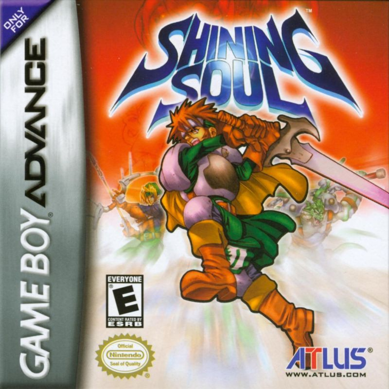 Shining Soul Game Boy Advance Front Cover