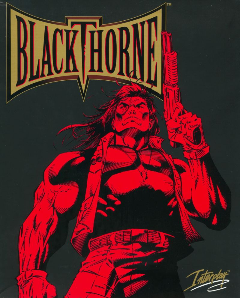 Blackthorne DOS Front Cover