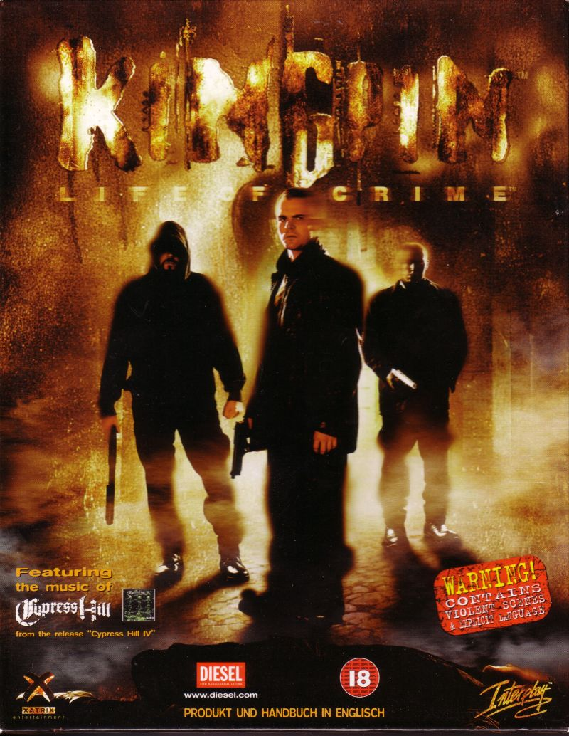 Kingpin: Life of Crime Windows Front Cover