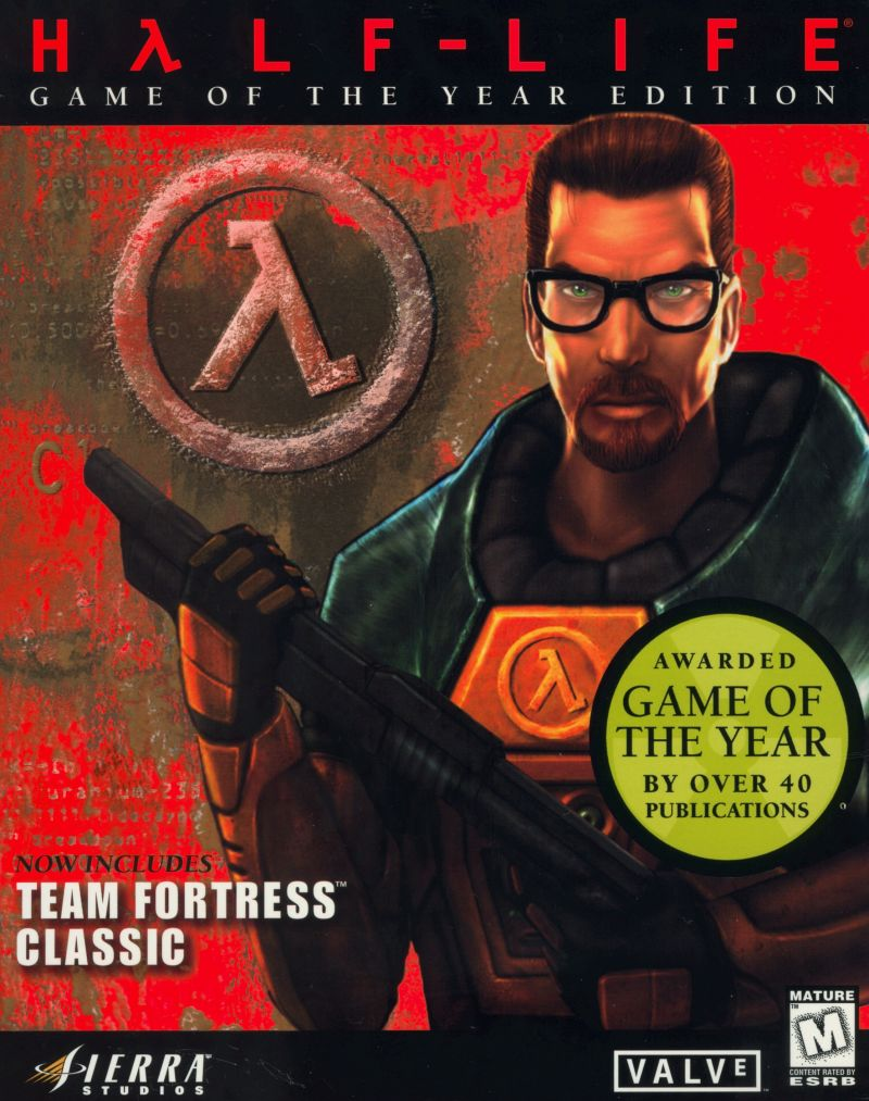 Half-Life: Game of the Year Edition Windows Front Cover